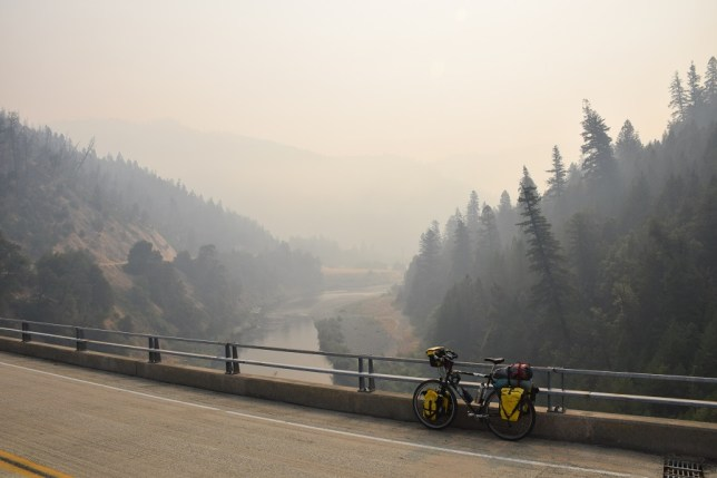Heading into the wild fires
