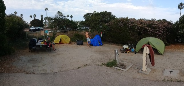 State Park camp and the dulcet sounds of the Union Pacific horn
