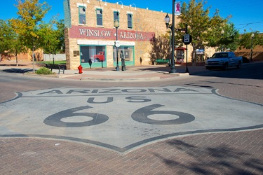 The top 10 icons of Route 66 are …
