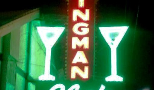 Kingman Club sign restored