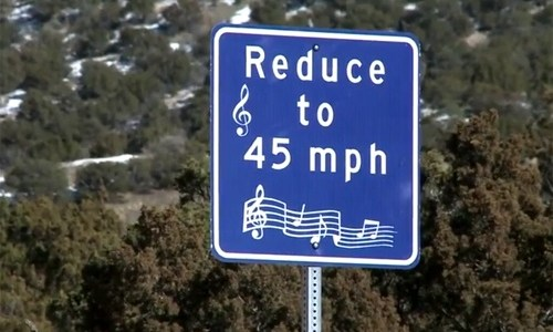 New Mexico won't maintain Route 66's Singing Road