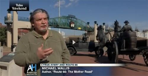 Michael Wallis appears on C-SPAN