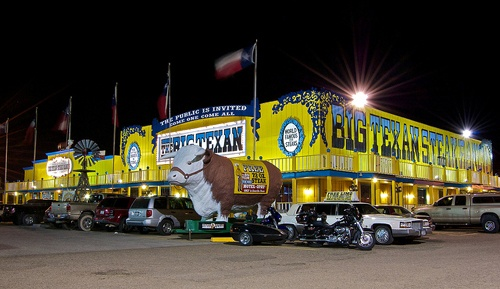 Big Texan Steak Ranch considers moving