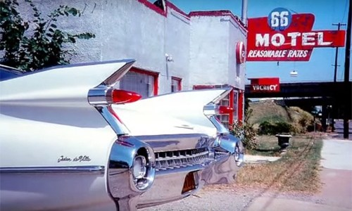 More 1993 footage from Route 66