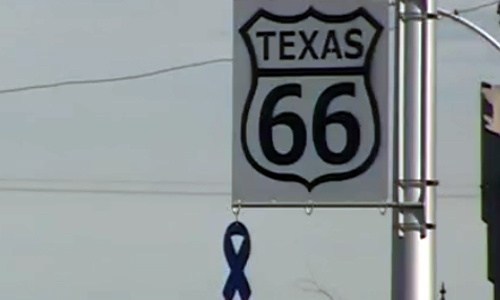 Amarillo's Route 66 district honors police officers