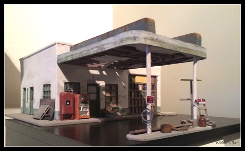 Texaco station, Glenrio