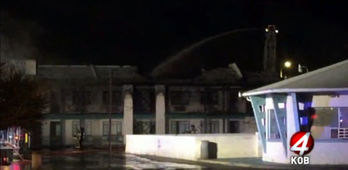 Fire heavily damages Desert Sands Motel in Albuquerque