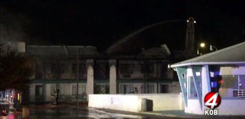 Fire heavily damages Desert Sands Motel in Albuquerque