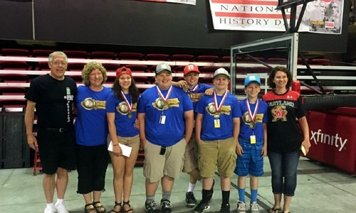 Middle-schoolers' Route 66 presentation wins national contest