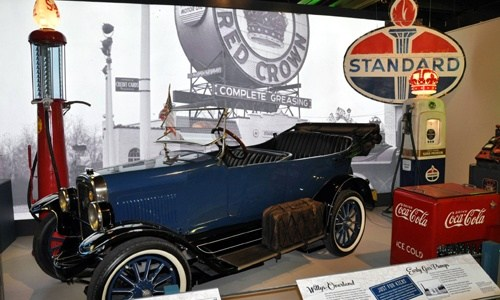 Route 66 exhibit at Missouri History Museum begins today
