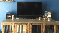 13 Unbelievably Cool Dog Crate Hacks | The Dog People by ...