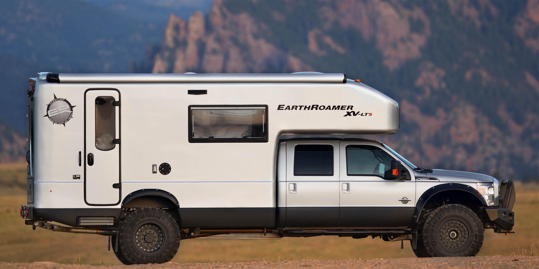 Stylish Earthroamer Off Road Rv Outdoor Adventure Roverpass Off Road Pop Up Truck Camper Off Road Pop Up Camper Interior curbed Off Road Pop Up Camper