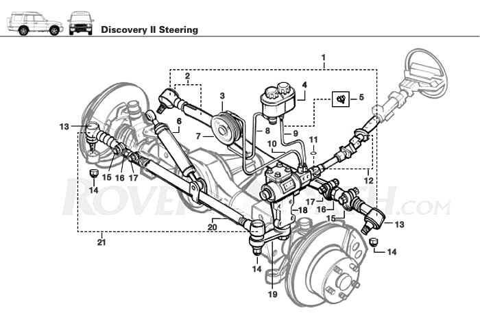 steering box schematic