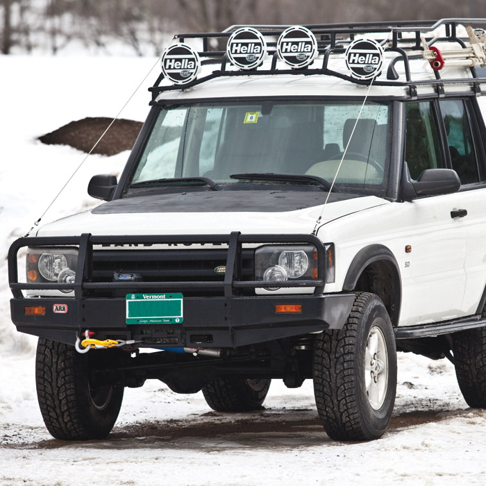 DECAL HOOD BLACKOUT KIT DISCOVERY II, PLH622, LRN9000KAL Rovers