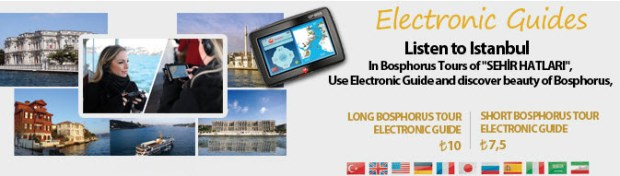 Electronic Guides Bosphorus Tour Istanbul Turkey