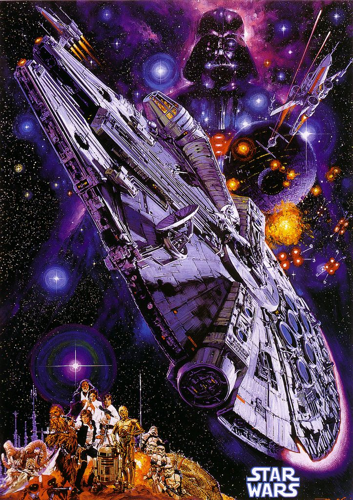Japanese Star Wars Art by Noriyoshi Ohrai - Sci-Fi, Film, Movies, Illustration, Posters