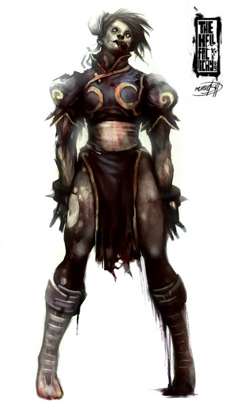 zombie chun li