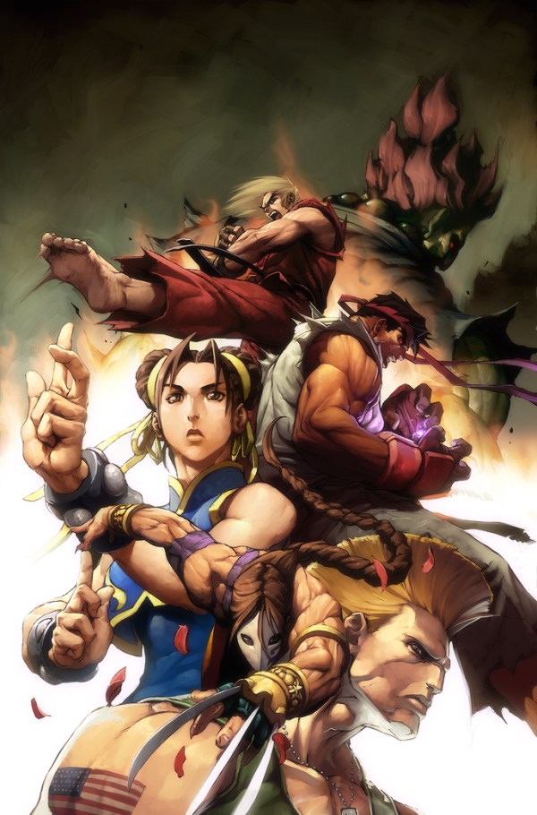 Street Fighter no.3 COVER by Alvin Lee