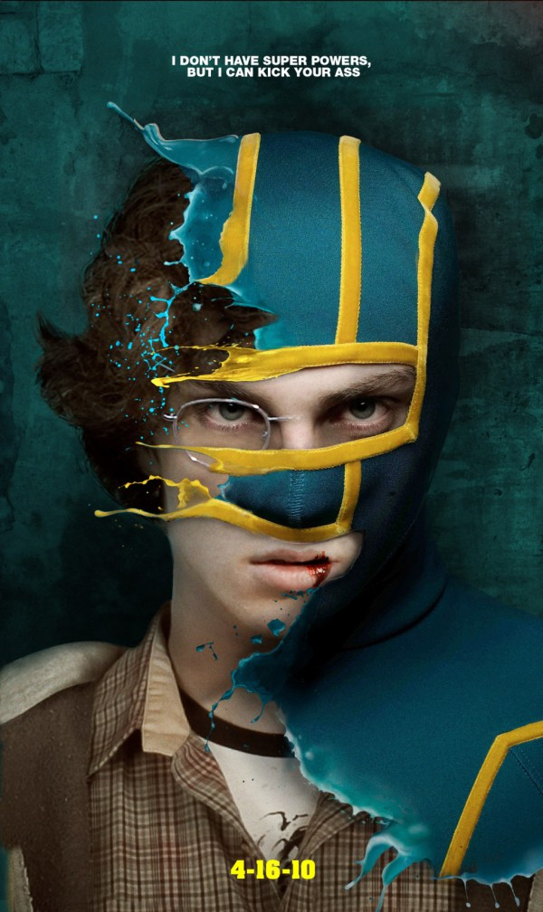 Kick-Ass (Aaron Johnson) Movie Poster