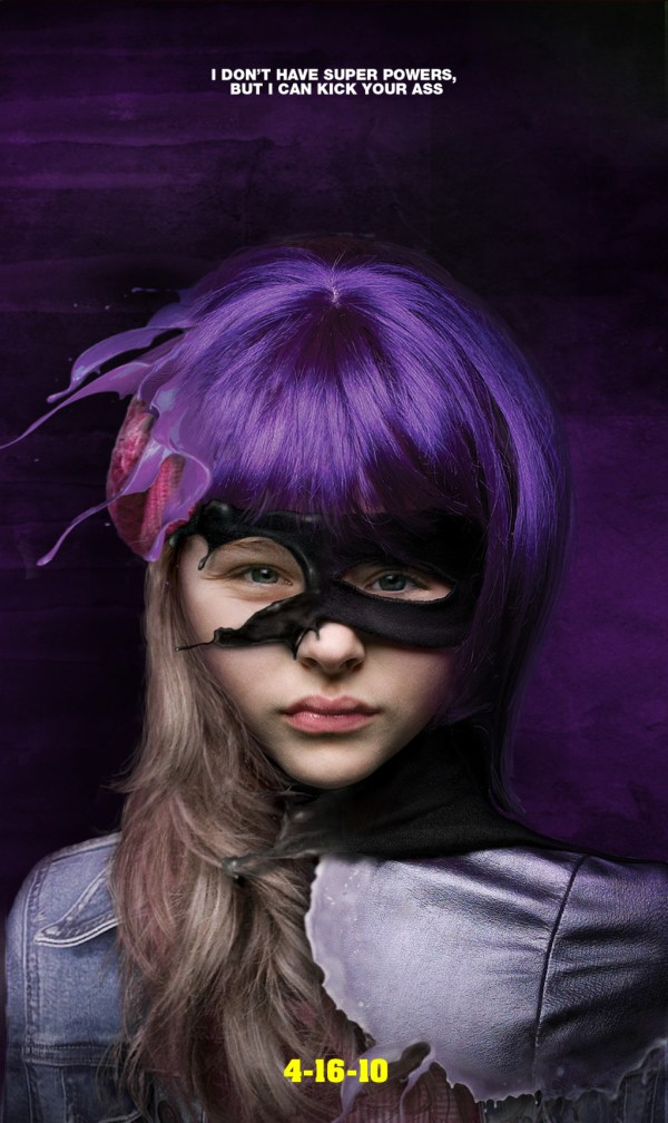 Hit Girl (Chloe Moretz) Kick-Ass Poster
