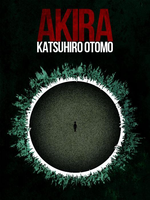 Akira Poster by Guillaume Vasseur