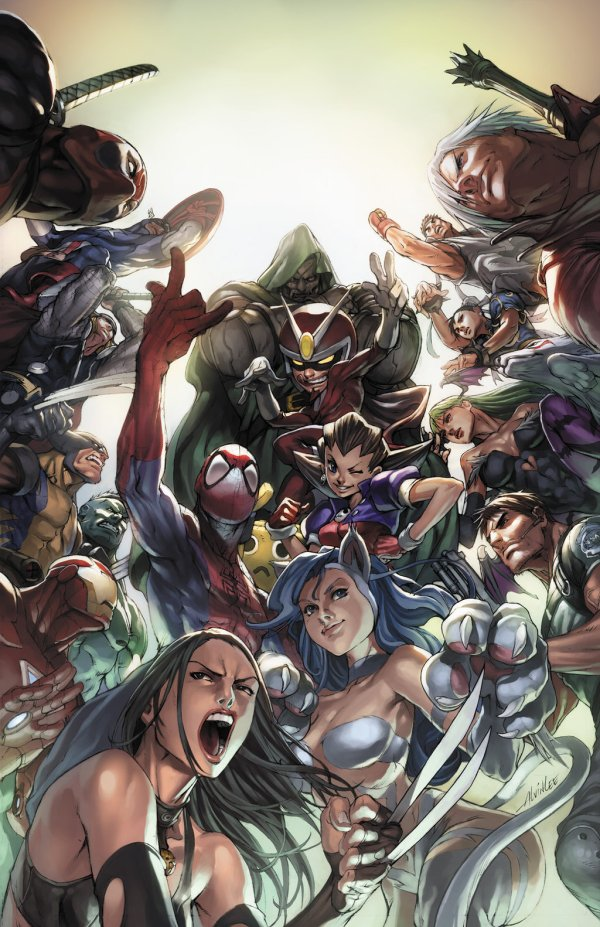 marvel vs capcom 3 promo by alvin lee