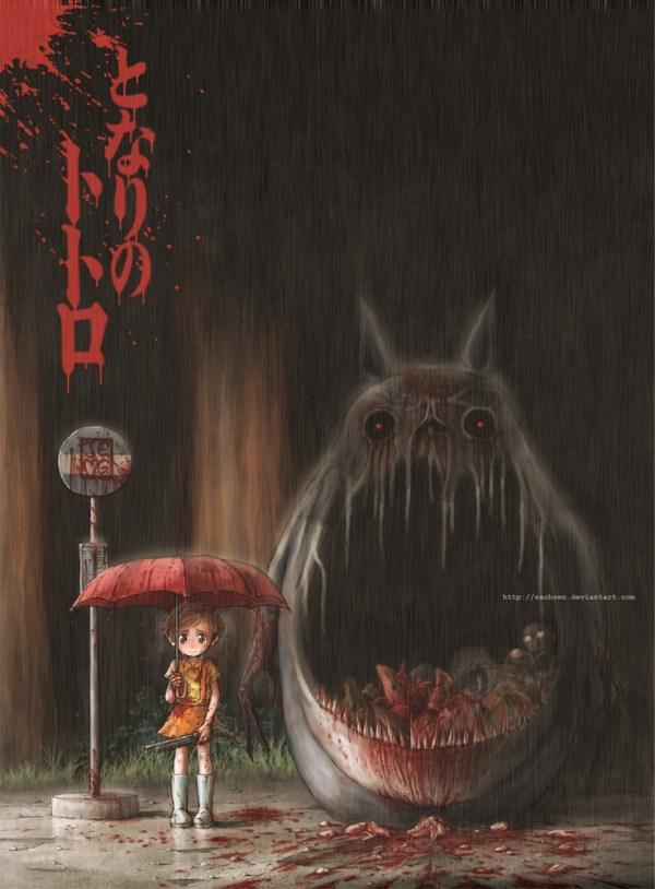 My Demonic Neighbor Totoro
