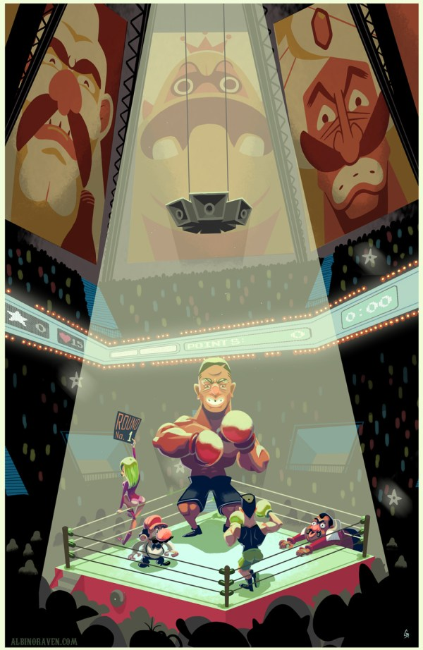 Mike Tyson's Punch-Out Fan Art by Glen Brogan
