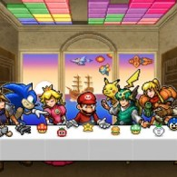 Video Game Last Supper