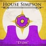 Game of Thrones House Sigils - The Simpsons