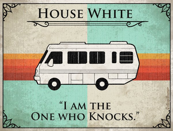 Game of Thrones House Sigils - Walter White - Breaking Bad