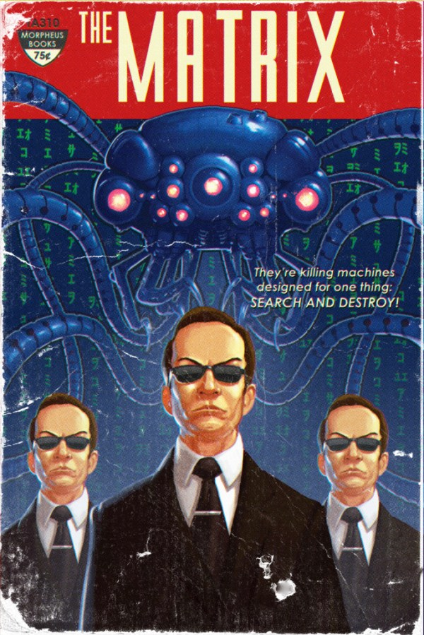 The Matrix Pulp Novel