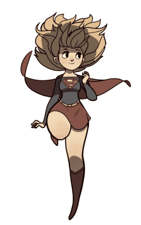 Supergirl by Karioks