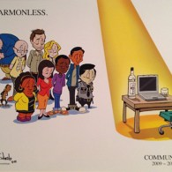 Community Art: Harmonless by Rob Schrab