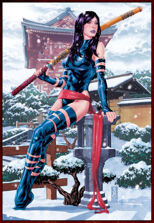 X-Men: Psylocke by Mark Brooks