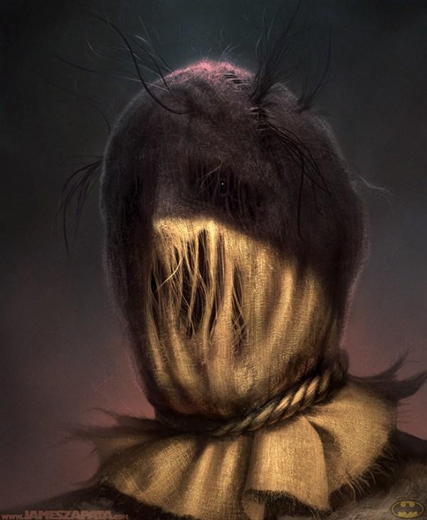 Scarecrow by James Zapata - Batman fan art