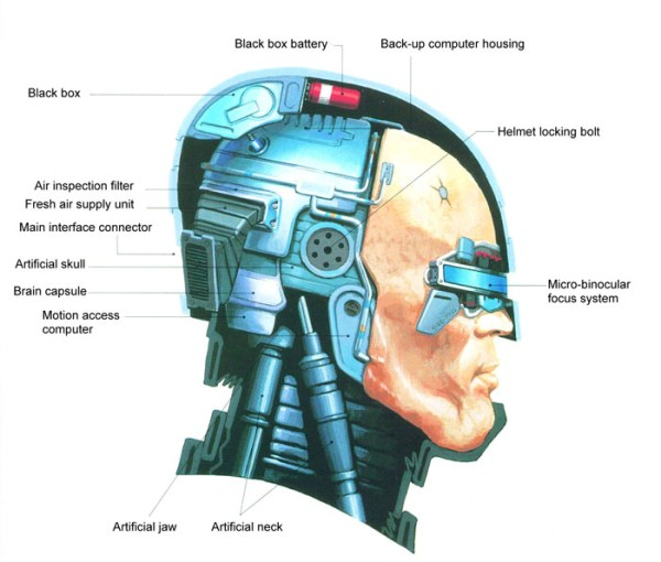 Japanese RoboCop Blueprints
