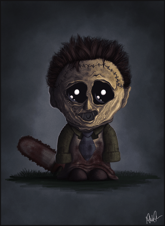 Leatherface Jr. by Monkey Gekko - Texas Chainsaw Massacre