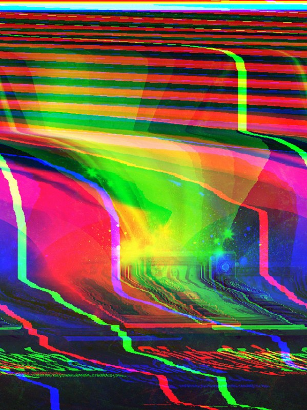 glitch art: databending with wordpad