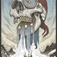 One-Eyed Willie - Goonies Mondo Poster by Randy Ortiz
