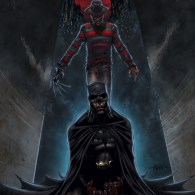 Freddy Krueger vs. Batman by Andrew Mangum - Nightmare on Elm Street Fan Art