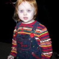 Creepy Kid in Chucky Costume [Child's Play Cosplay]