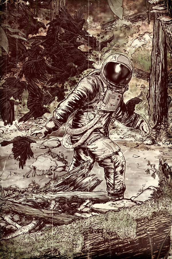 Cover of Hoax Hunters #2 by Tristan Jones - Bigfoot, Sasquatch, Astronaut