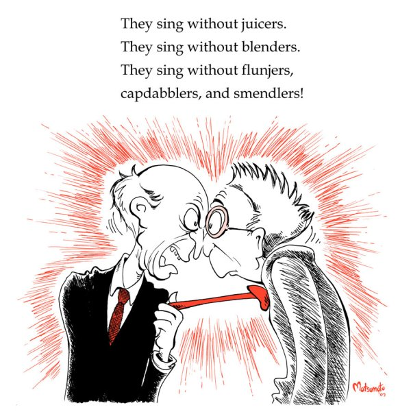 You're a Mean One Mr Burns by Space Coyote - Simpsons, Dr. Seuss, How the Grinch Stole Christmas