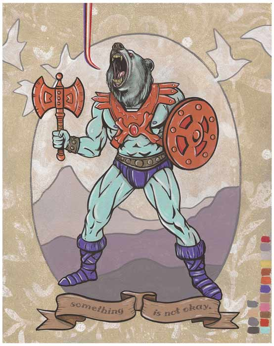 Faker Bear by Steve Seeley - Masters of the Universe, He-Man
