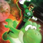 Green Lantern x Yoshi Mashup by m7781 [Comics | Super Mario Bros]