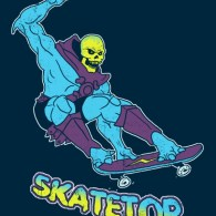 Skatetor: Skeletor on a Skateboard