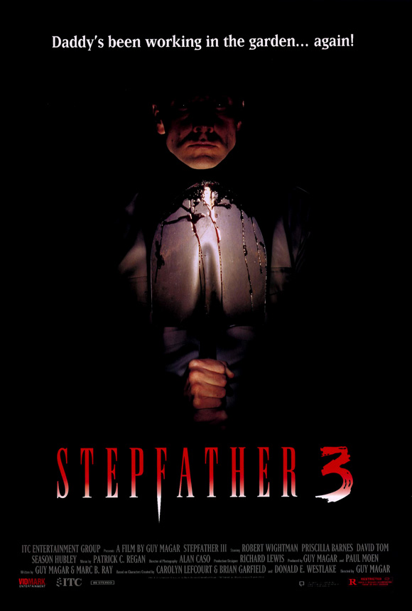 Stepfather 3 (1992) Poster - Horror Thriller