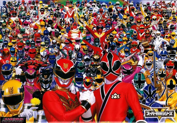 Super Sentai Group Wallpaper - Power Rangers, All, Every Hero, 2010