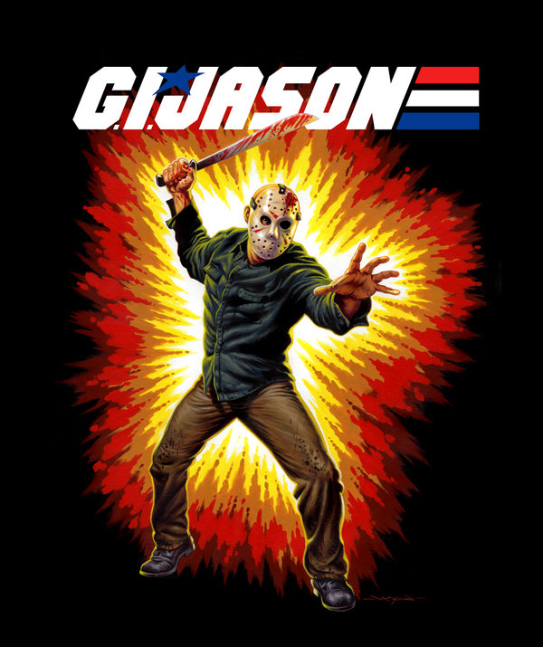 G.I. Jason by Jason Edmiston - G.I. Joe x Jason Voorhees, Friday the 13th